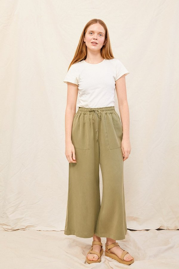 back beat rags Easy Pant - Sage