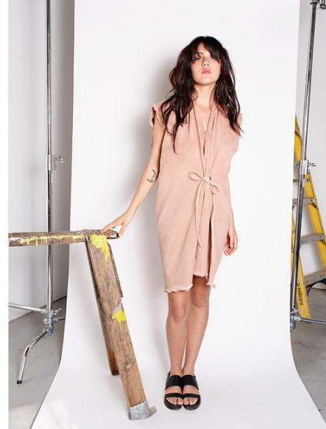 Miranda Bennett Glaze Tribute Dress   Denim