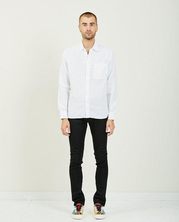 KATO RIPPER VINTAGE DOUBLE GAUZE SHIRT - WHITE