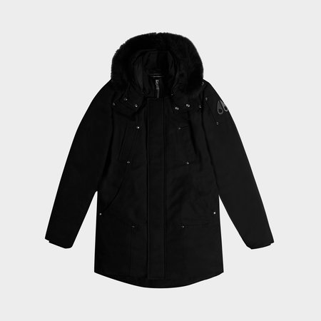 MOOSE KNUCKLES Stirling Parka - Black/Black