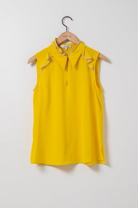Dorothee Schumacher Fine Lines Top - Yellow