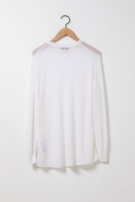 Dorothee Schumacher Graceful Clouds Pullover - Sheer White