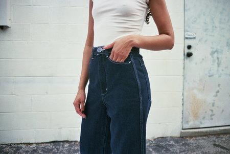 Gravel & Gold Placer pants - Washed Indigo Denim