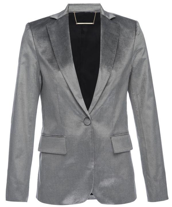 FRAME Denim Frame Classic Blazer - Silver