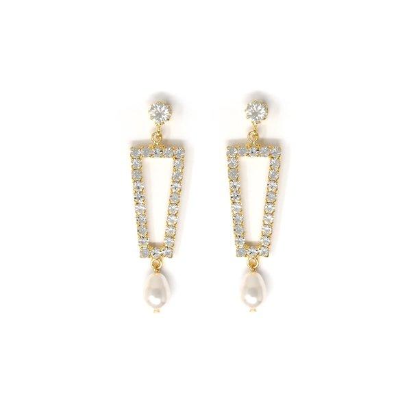 Joomi Lim Crystal & Pearl Earrings