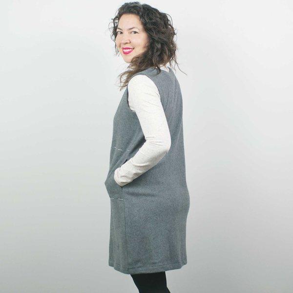 Atelier b. Knit Dress - Heather Grey