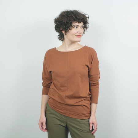 Atelier b. Long Sleeve Top - Copper