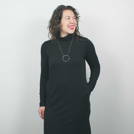 Atelier b. Turtleneck Dress - Black