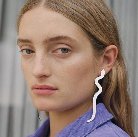 Paloma Wool Serpiente Earrings - Silver