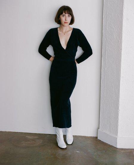 Paloma Wool Hera Dress - Dark Navy