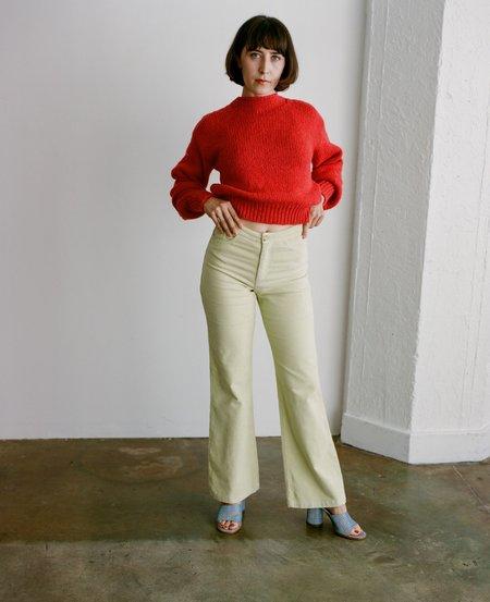Paloma Wool Milton Pant - Light Olive Green