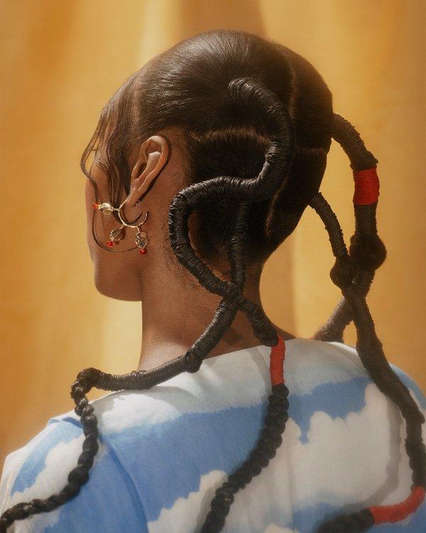 Ora-C RAYMONDE earrings - silver