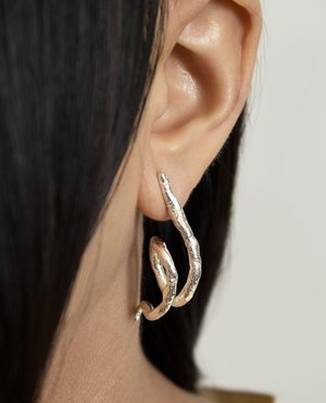 Ora-C YVONNE earrings - silver