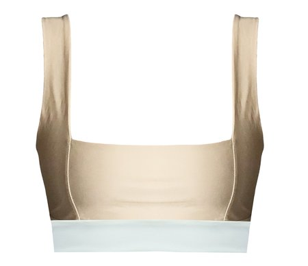 The Saltwater Collective Josi Top - Crepe/Ivory
