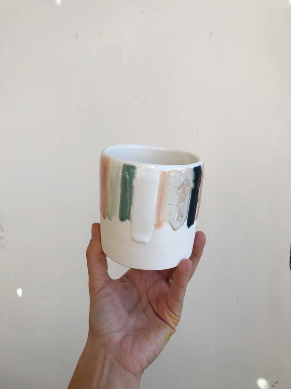The Object Enthusiast Rainbow Drip Tumbler