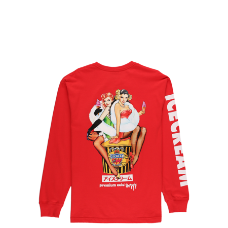 IceCream After Party Long Sleeve T-Shirt - Tomato