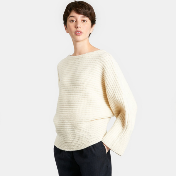 Demy Lee RUFUS SWEATER - WHITE