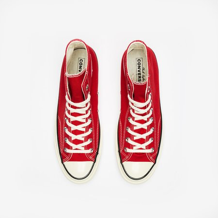CONVERSE CTAS 70 HI Sneaker - Enamel Red