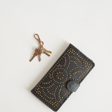 Cleobella Mexicana Wallet - Black