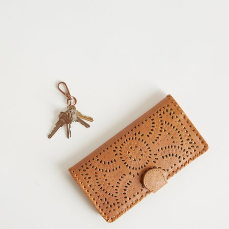 Cleobella Mexicana Wallet - Tan