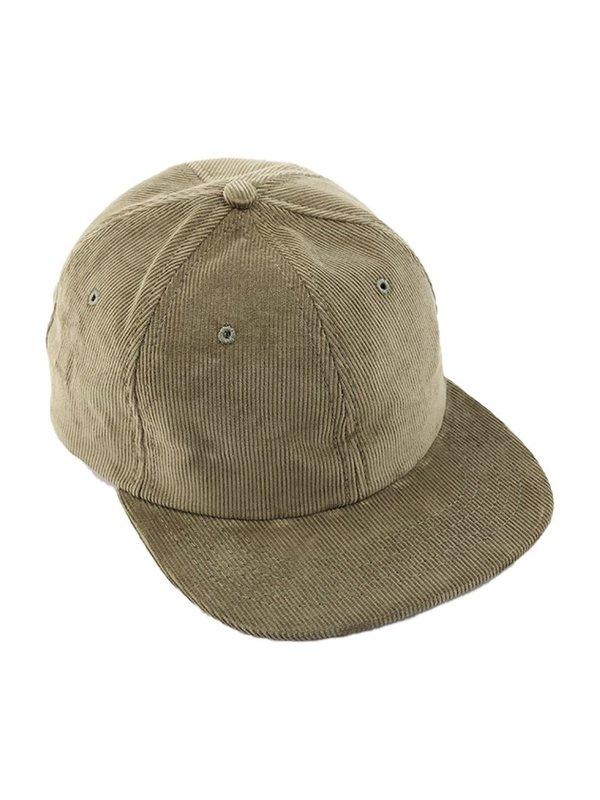 Tanner Goods 6 Panel Corduroy Hat - Moss