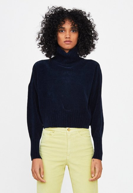 Paloma Wool Como Soft Sweater - Navy