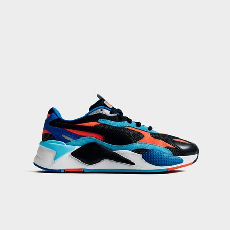 Puma RS-X3 Cube Level Up Sneakers - Black/Coral