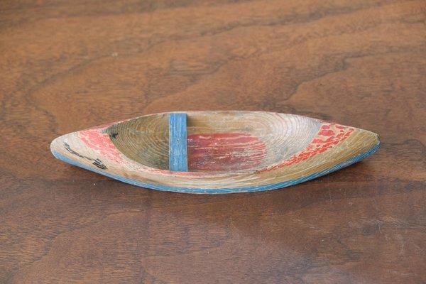 Vintage SCV Home Wooden Sailboat