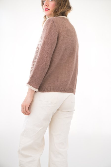 Backtalk PDX Vintage Wool Sweater - Brown