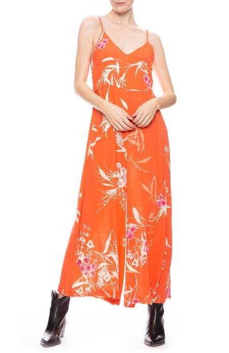 ICONS The Winona Jumpsuit - Coral Bamboo