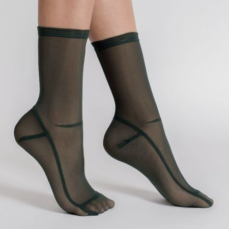 Darner Pack of 4 Colours Mesh Socks