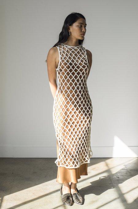 Pari Desai Almora Crochet Dress - Natural