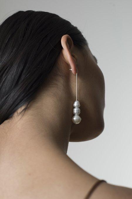 Pari Desai Elena Drop Earring - Gold Vermeil / Circlé Pearls