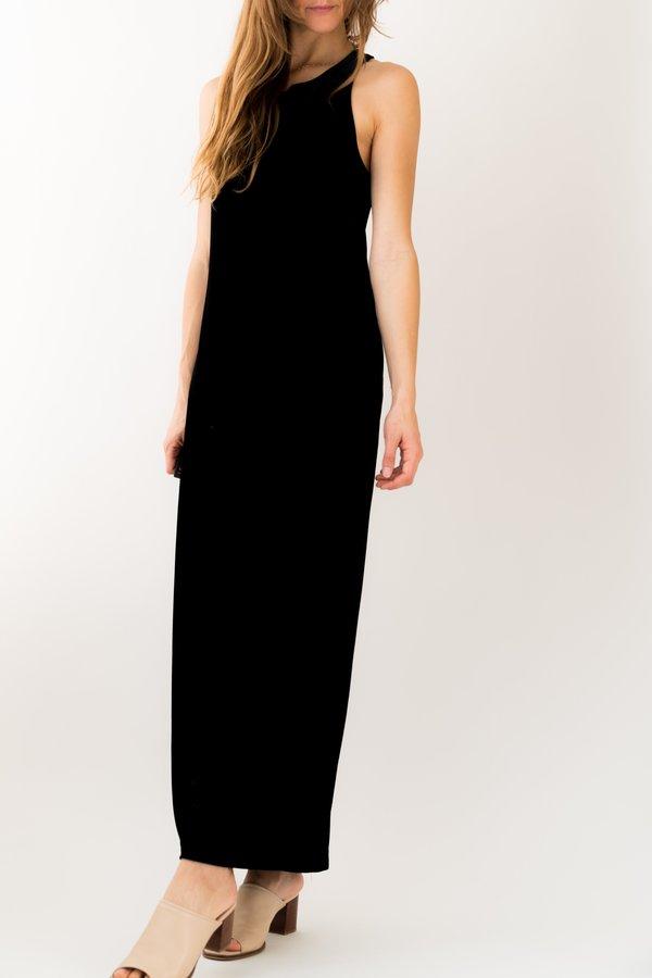 Backtalk PDX Vintage Velvet Holiday Evening Dress - Black