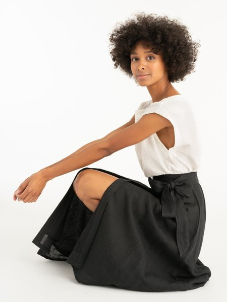 Tribe Alive Wrap Skirt - Ink