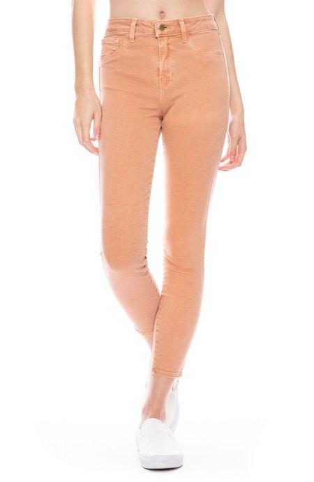L'agence Margot High Rise Skinny Jean - Terracotta