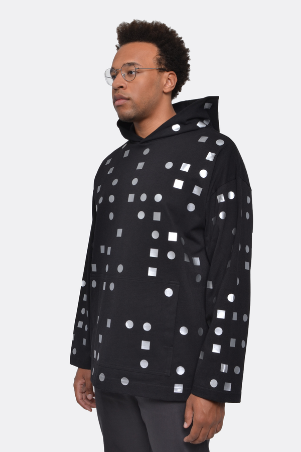 The Celect Mosaic Hoodie - Black