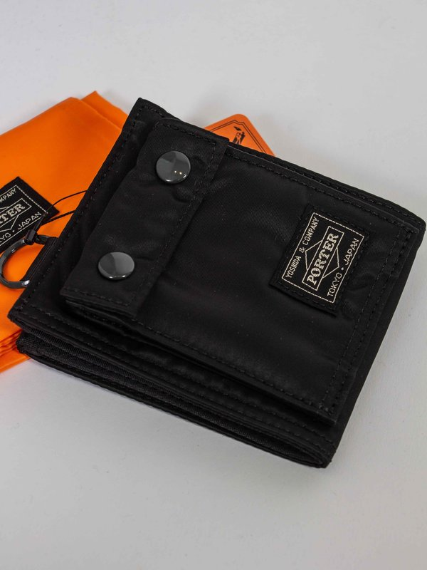 Porter Tanker nylon Long Wallet - Black