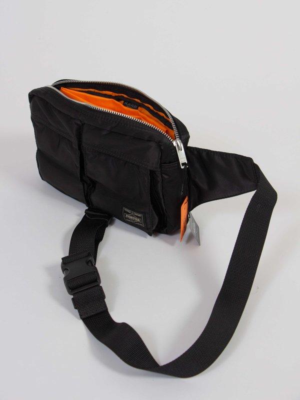 Porter Tanker nylon Waist Bag - Black
