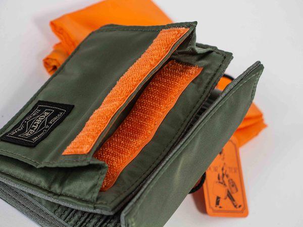 Porter Tanker nylon Wallet - Sage