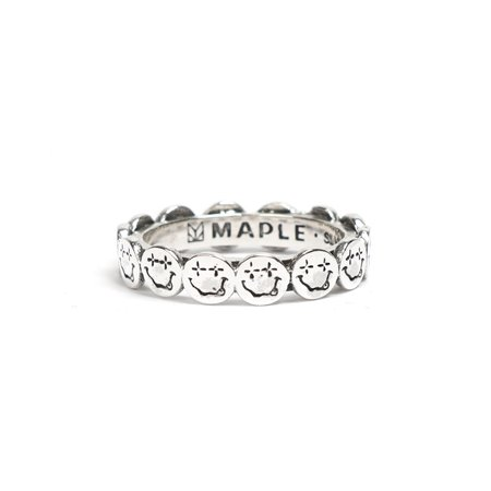 MAPLE NEVERMIND RING - SILVER 925