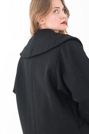 Backtalk PDX Vintage Coat - Black