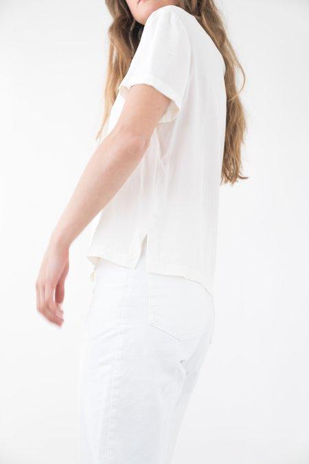 Backtalk PDX Vintage Silk Tee - White