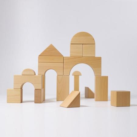 Kids Grimm's Giant Building Blocks Natural Wood
