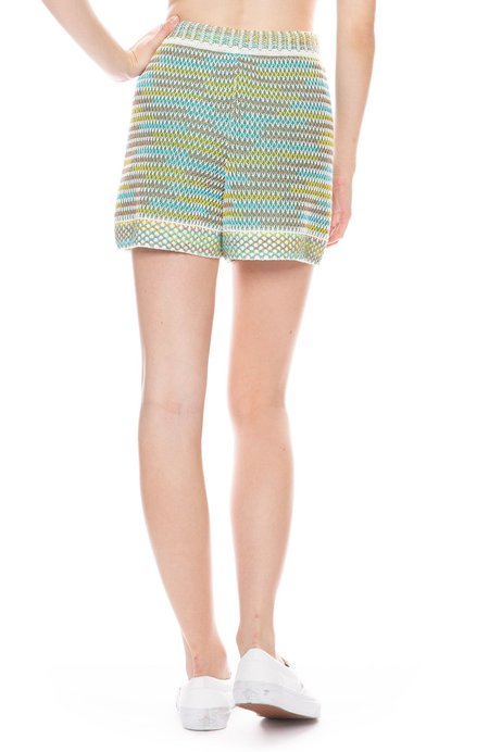 M. MISSONI Mixed Knit Shorts - Multi
