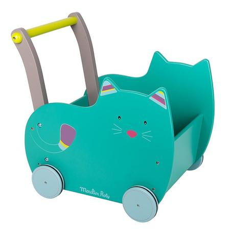 Kids Moulin Roty Les Pachats Cat Walking Trolley