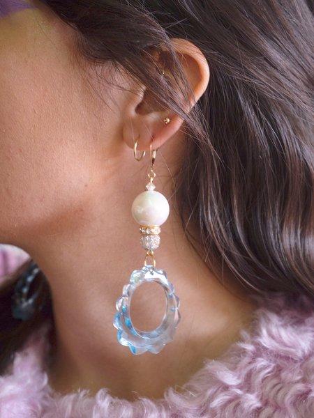 SJO Jewelry Morning Glory Lucite Earrings