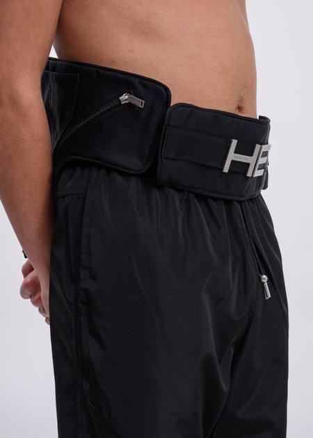 Heliot Emil Elastic Belt Bag - Black