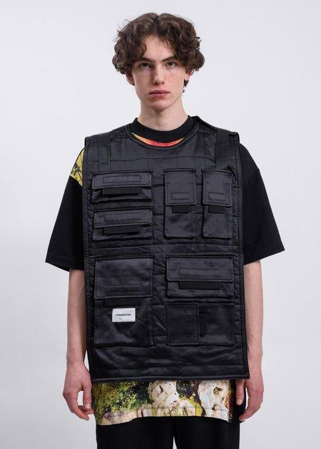 CORNERSTONE Reversible Vest - Black