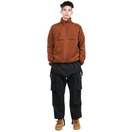 Snow Peak CLASSIC FLEECE JACKET - ORANGE